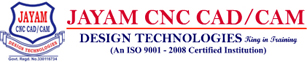 JAYAM CNC CAD/CAM TRAINING AND SERVICES